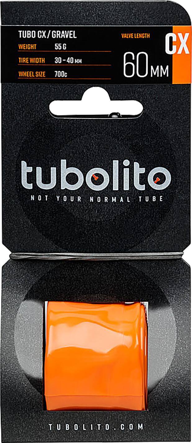 tubolito Tubo-CX/Gravel Tube, orange (2019) | Slanger