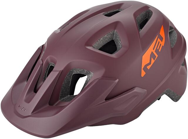 Mountain Bike Cycle Helmet MET Echo Grey Matt 52 57