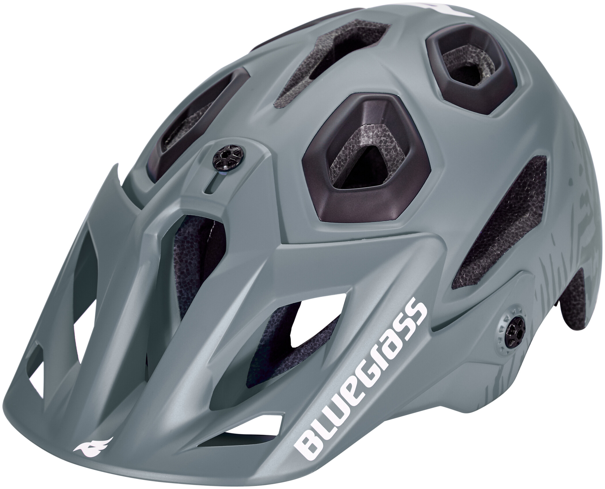 bluegrass Golden Eyes Cykelhjelm, storm gray/texture/black (2019) | Helmets