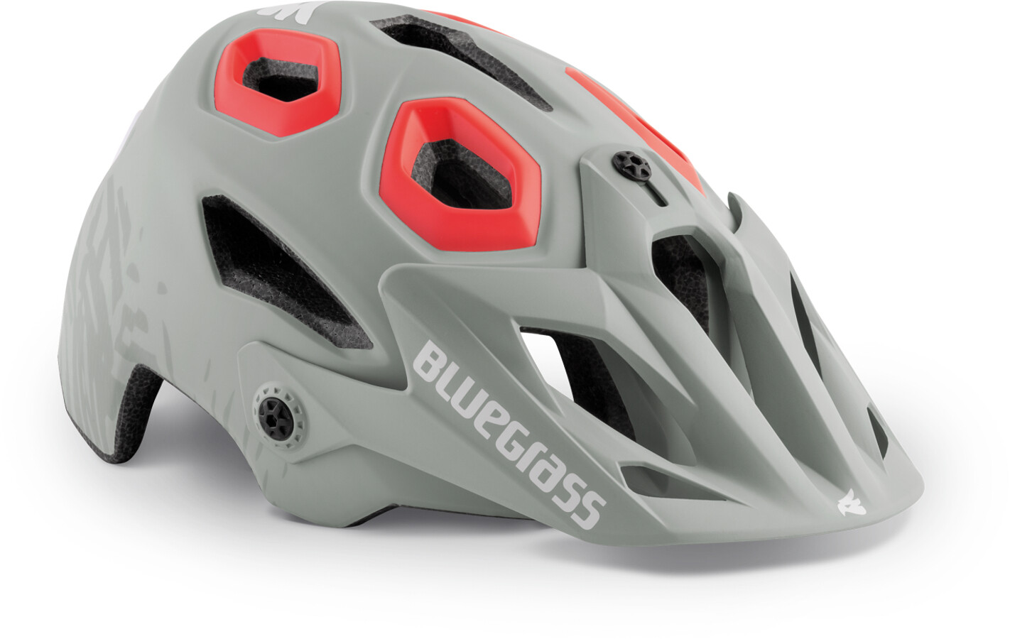 bluegrass Golden Eyes Cykelhjelm, dirty white/texture/pink (2019) | Helmets