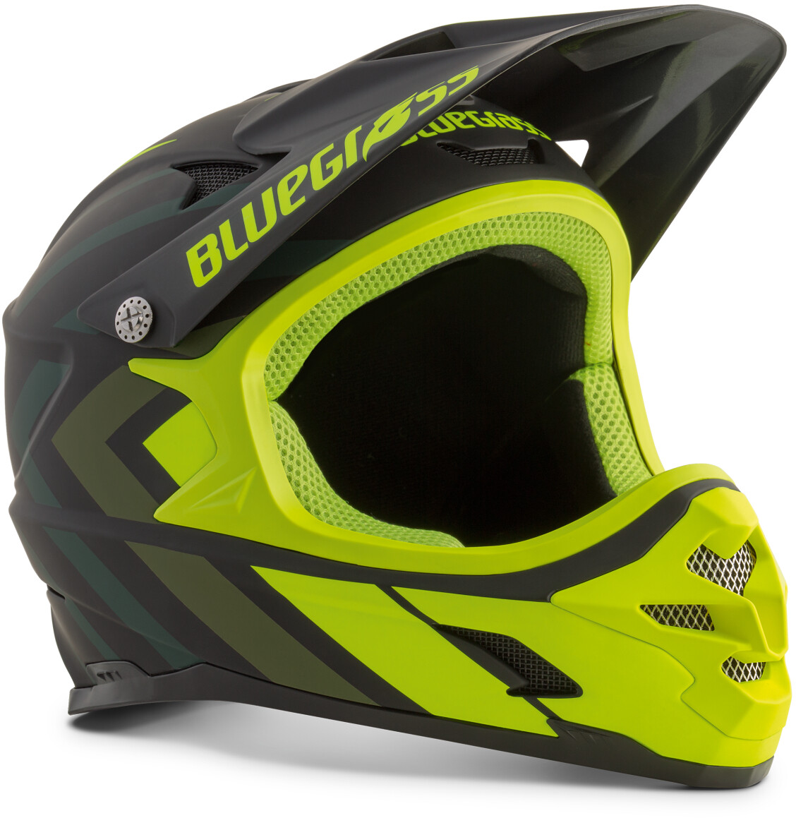 bluegrass Intox Cykelhjelm, black shaded/fluo yellow (2019) | Helmets