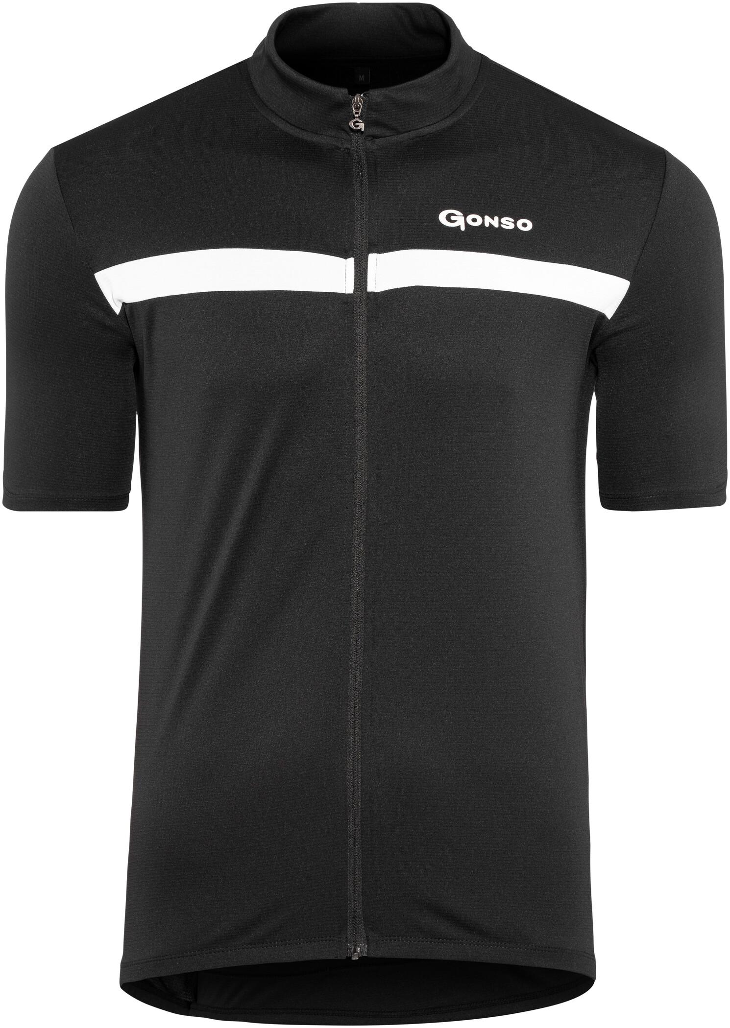 Gonso Artur Kortærmet cykeltrøje Herrer, black | Jerseys