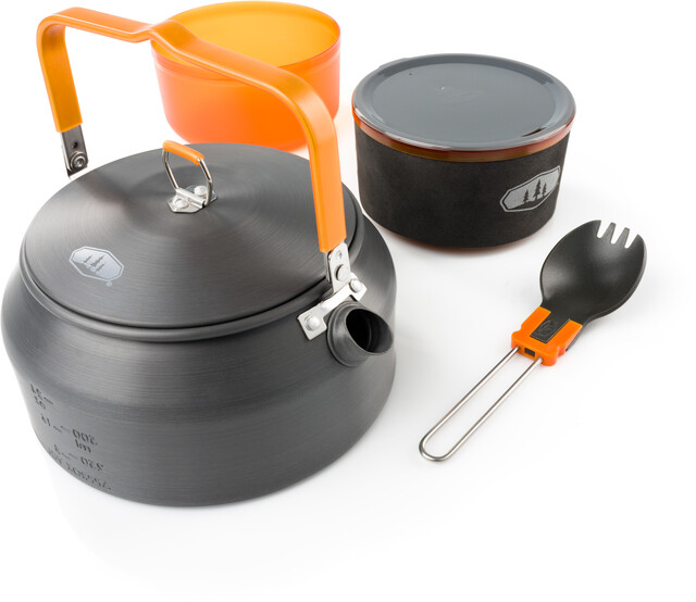 GSI set de cuisine alu Halulite Microdualist Ustensiles
