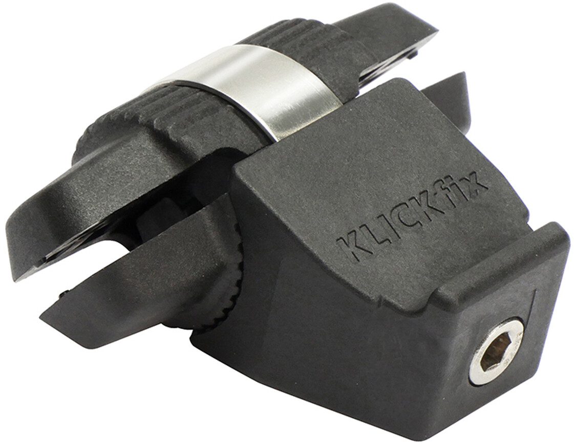 KlickFix Contour Sadeladapter, black   Bags accessories