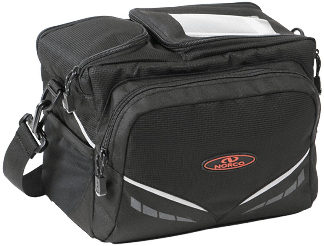Norco Kansas E Cykeltaske, black | Tasker til bagagebærer