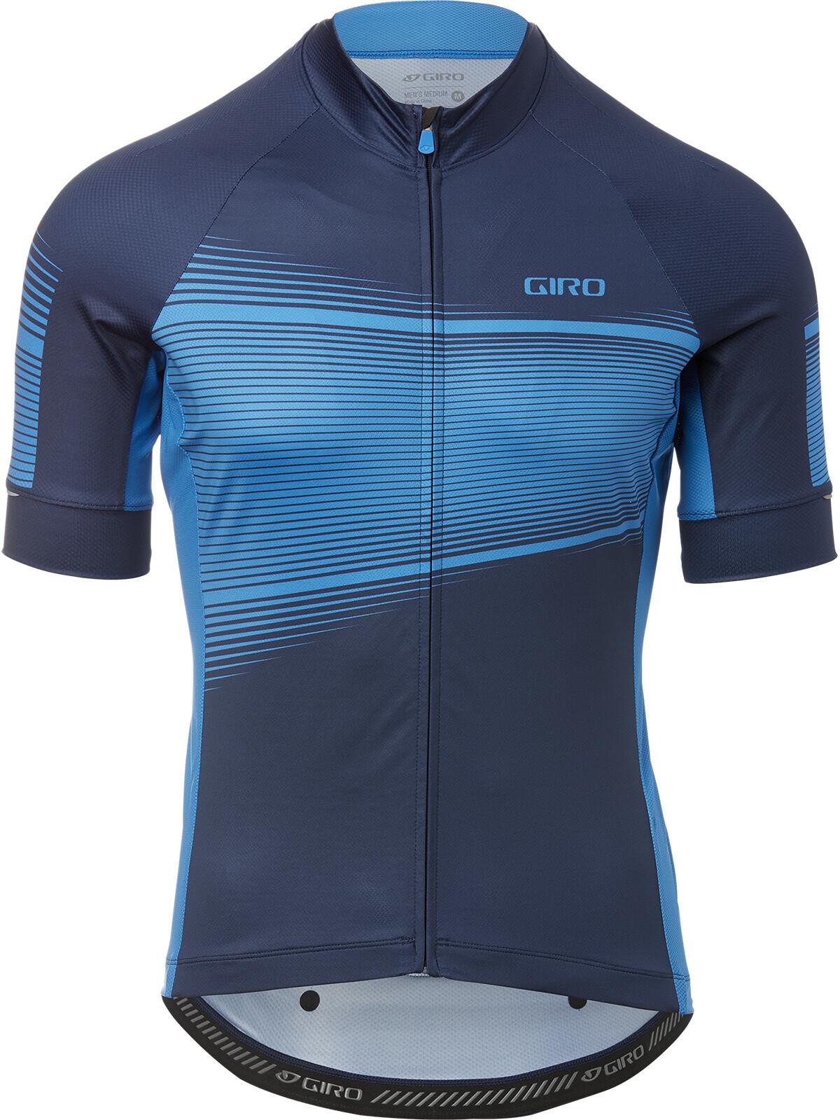 Giro Chrono Expert Kortærmet cykeltrøje Herrer, midnight/blue heatwave (2019) | Jerseys