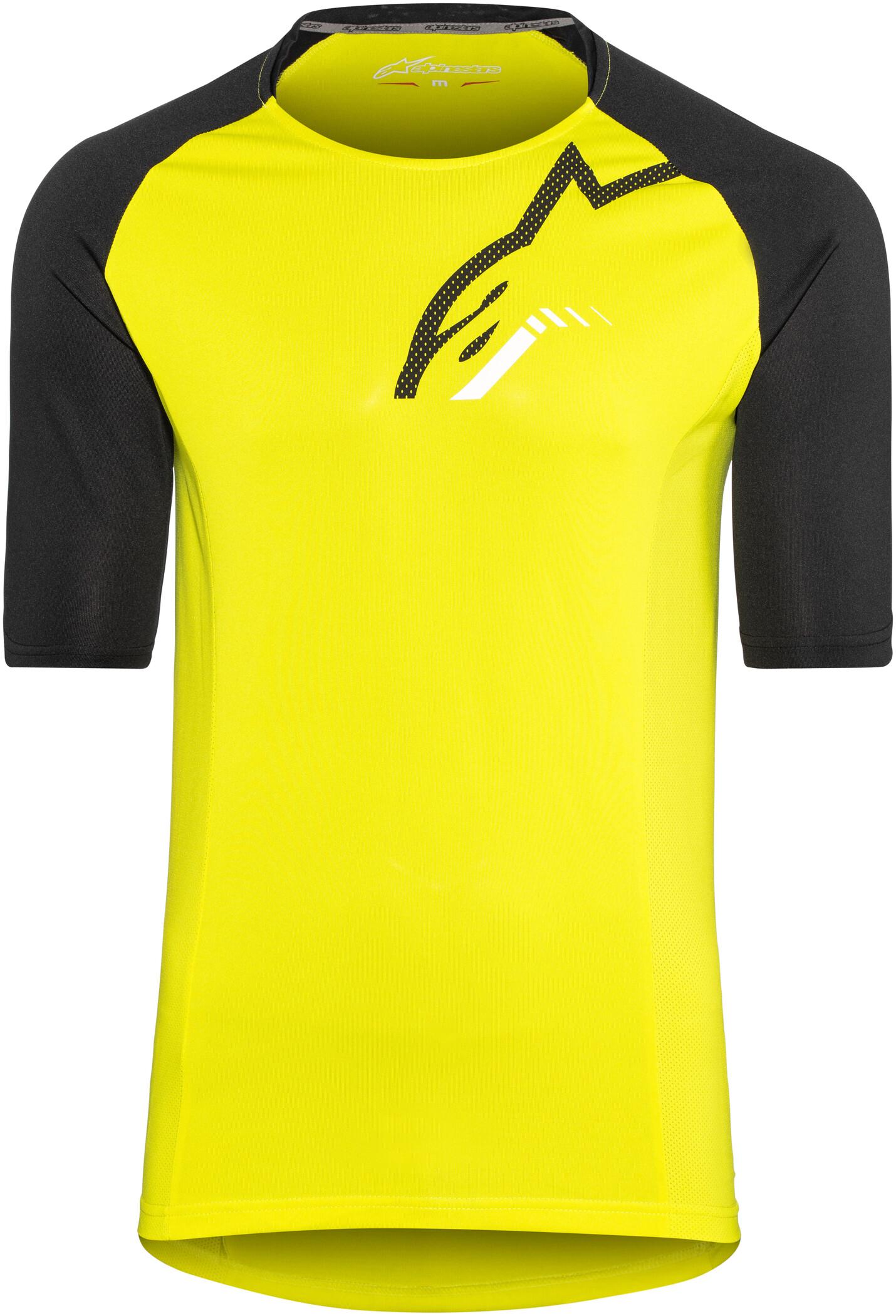 Alpinestars Trailstar Cykeltrøje Herrer, acid yellow/black (2019) | Jerseys