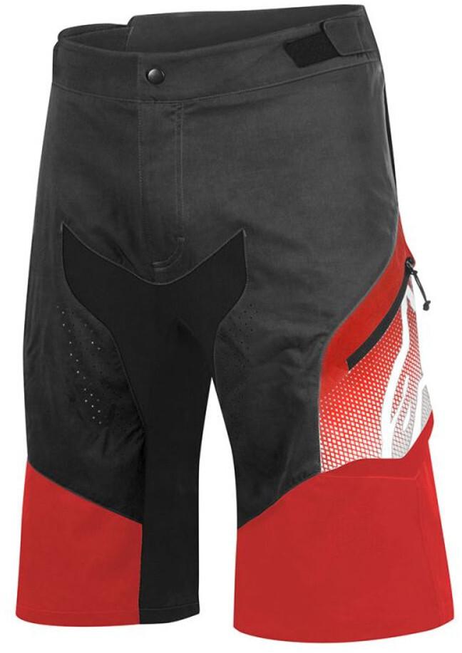 Alpinestars Predator Shorts Herrer, black/red (2019) | Bukser