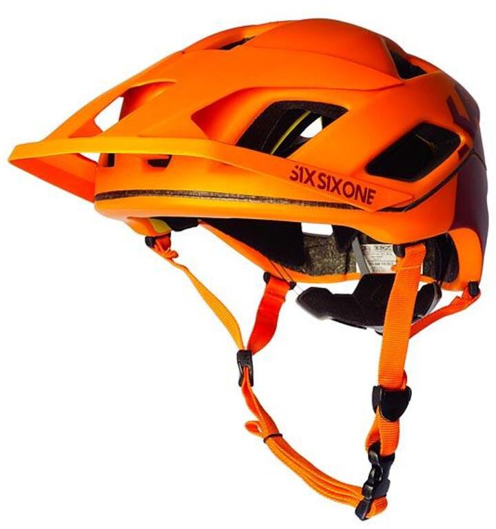 SixSixOne EVO AM Patrol Cykelhjelm, autumn orange | Hjelme