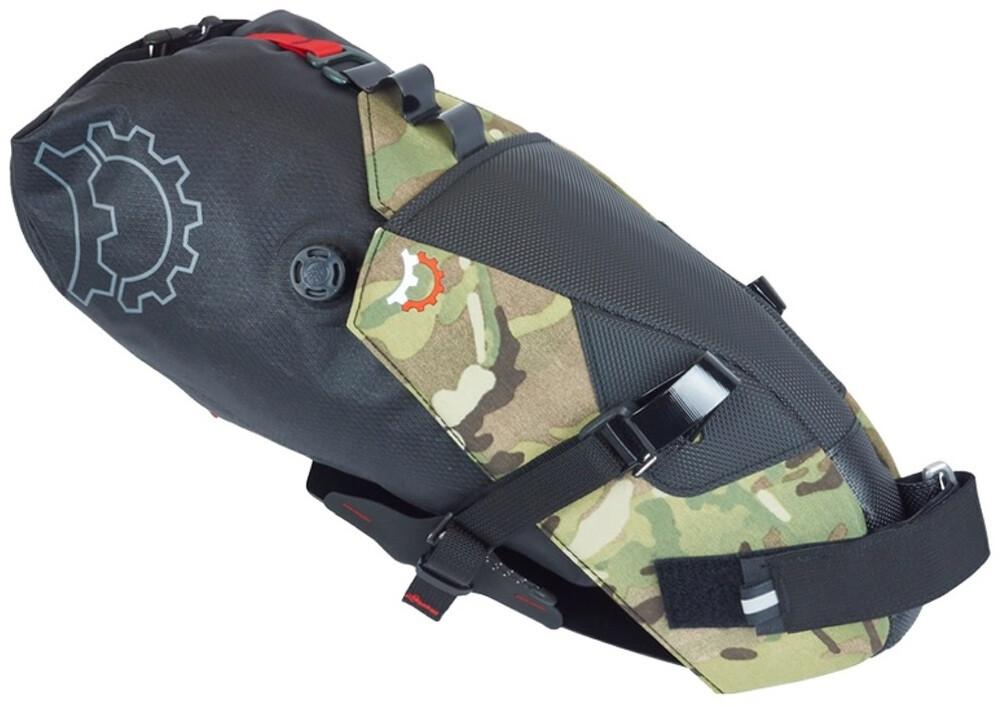 Revelate Designs Terrapin 8L System Cykeltaske Inkl. vandtæt pose, multi camo | Saddle bags
