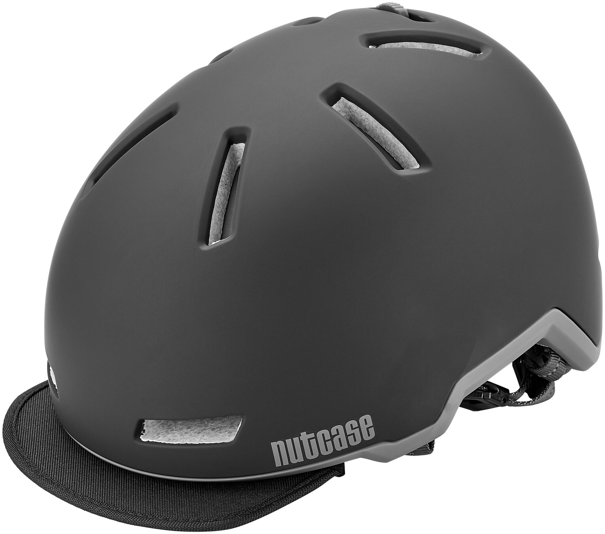 Nutcase Tracer Cykelhjelm, midnight black matte (2019) | Helmets
