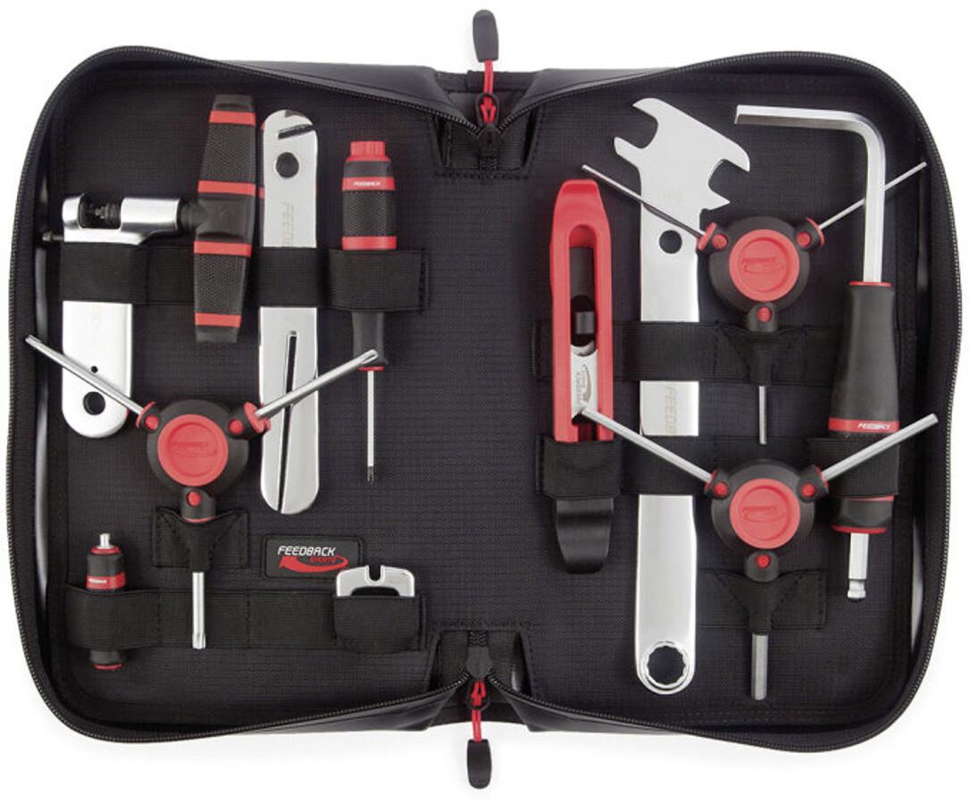 Feedback Sports Ride Prep Værktøj, black/red   Værktøj