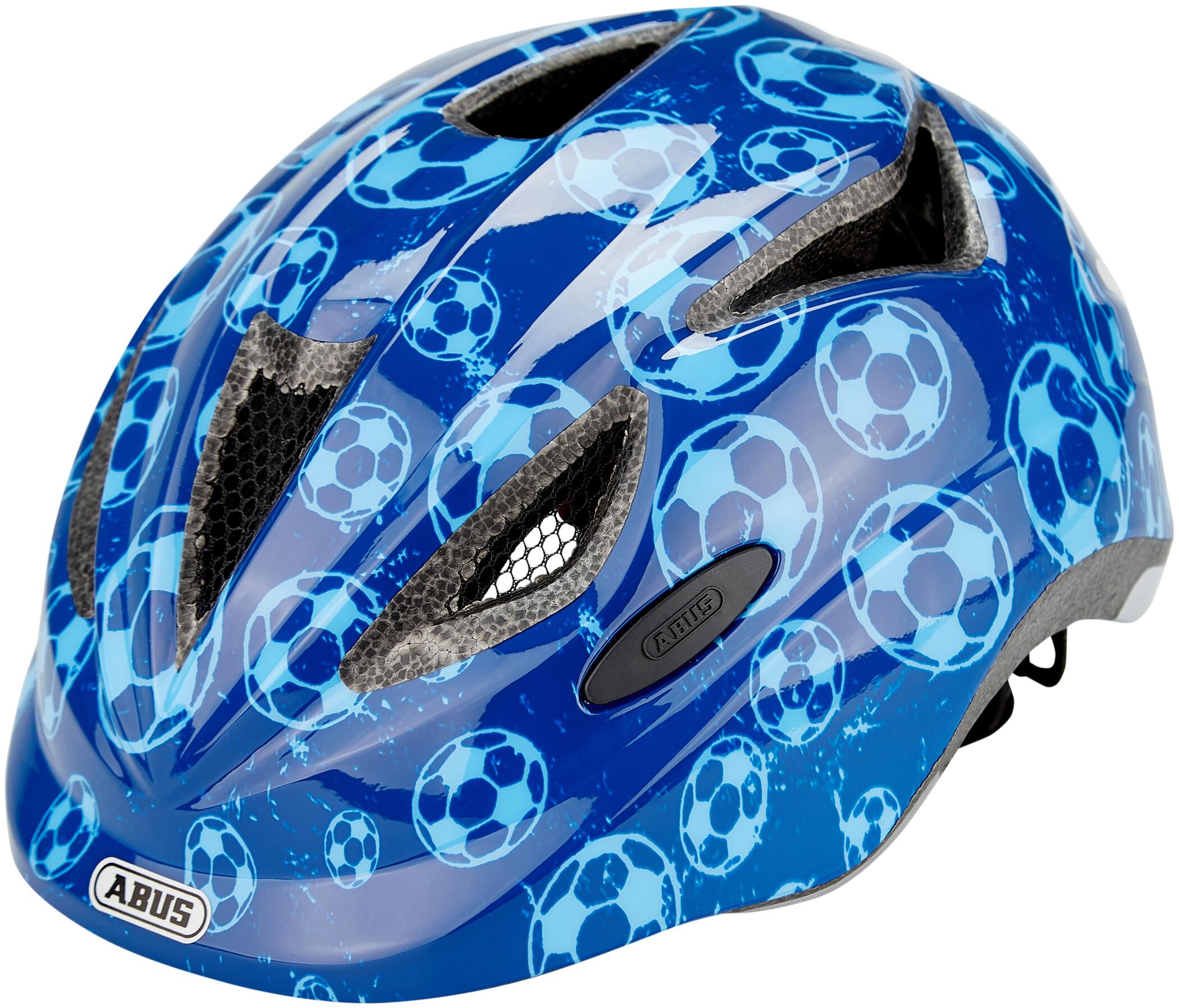 Abus Anuky cykelhjelm - Blue Soccer 52 - 57 cm. | Helmets