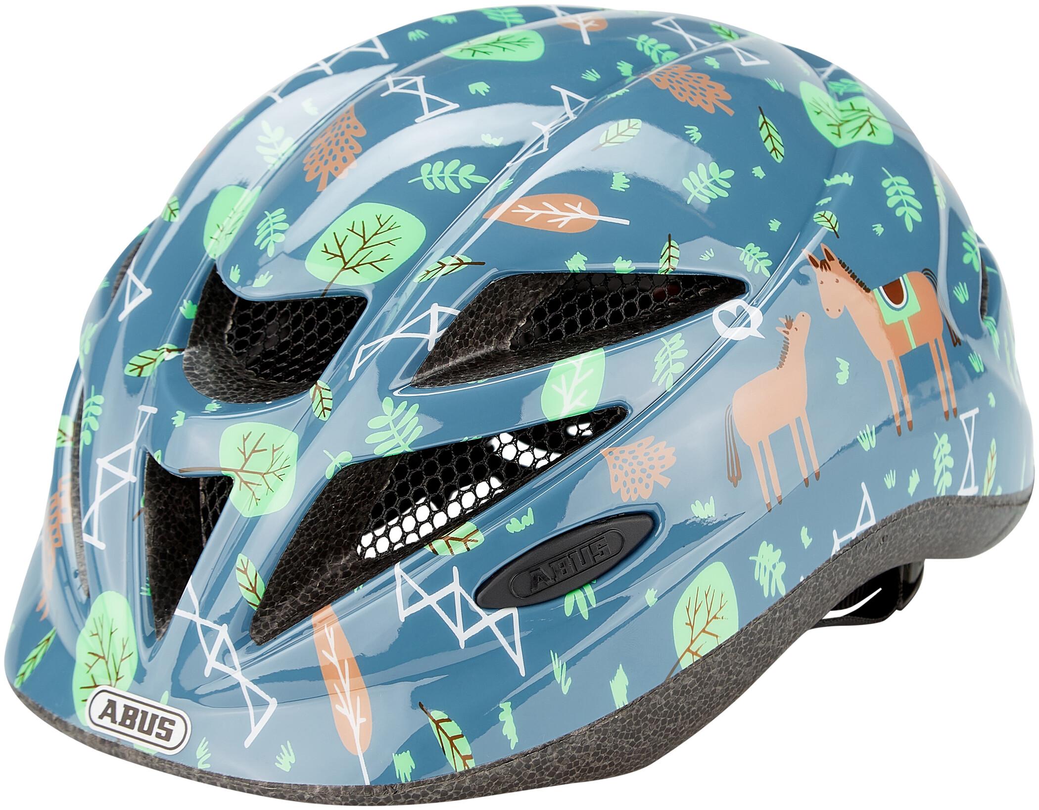 ABUS Hubble 1.1 shiny shrimp cykelhjelm | Helmets