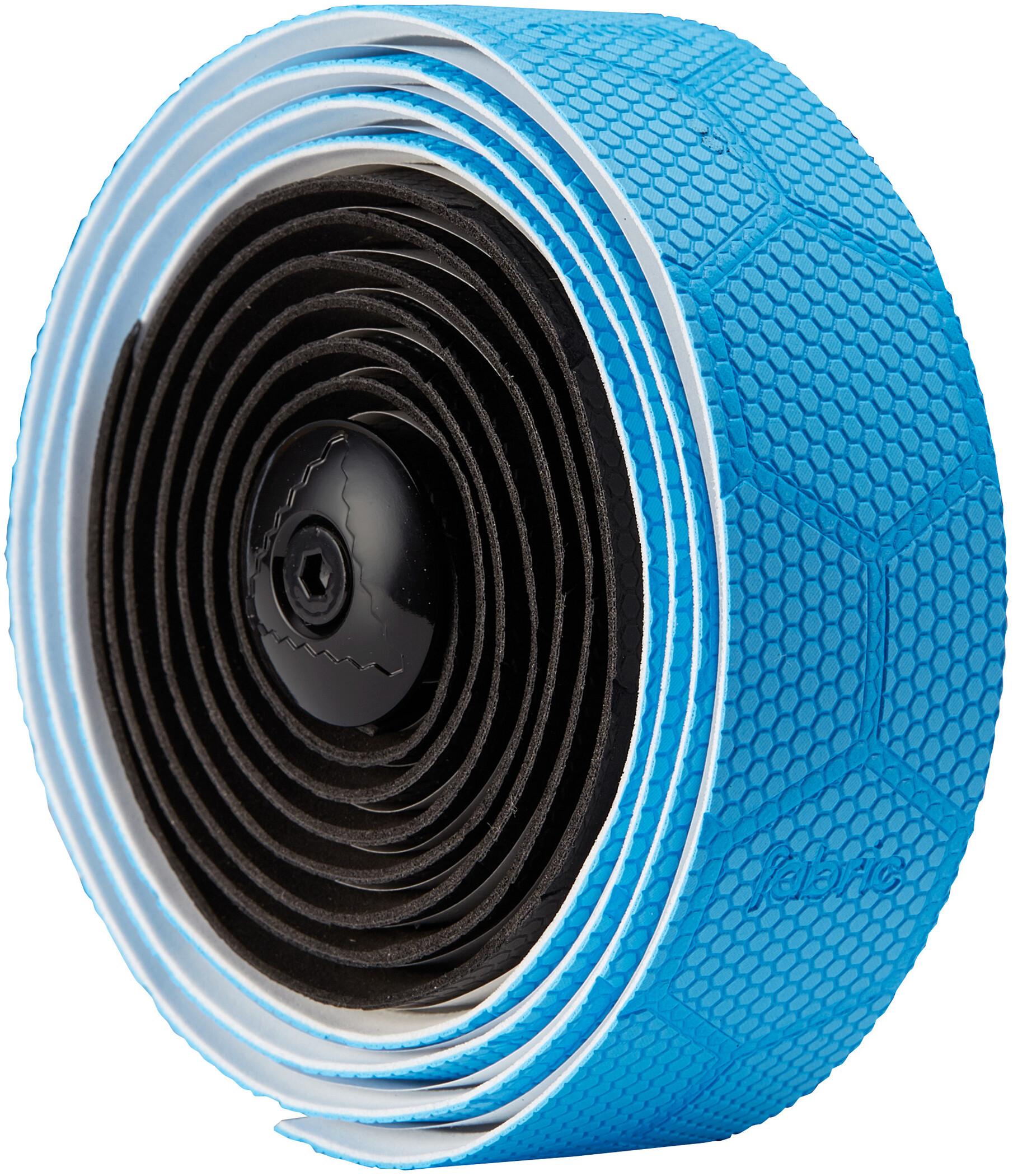 Fabric Hex Duo Styrbånd, black/blue (2019) | Bar tape