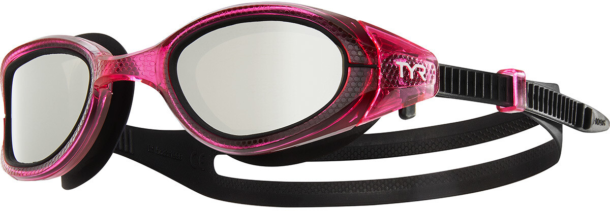 TYR Special OPS 3.0 Polarized Svømmebriller Damer, silver/pink (2019) | swim_clothes