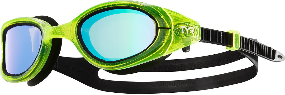 TYR Special OPS 3.0 Polarized Svømmebriller, green/black (2019) | swim_clothes