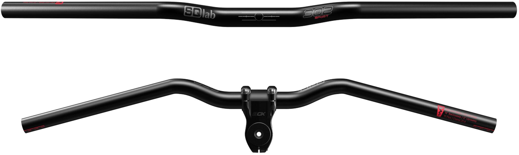 SQlab 302 Sport 2.0 Cykelstyr, black (2019) | Handlebars