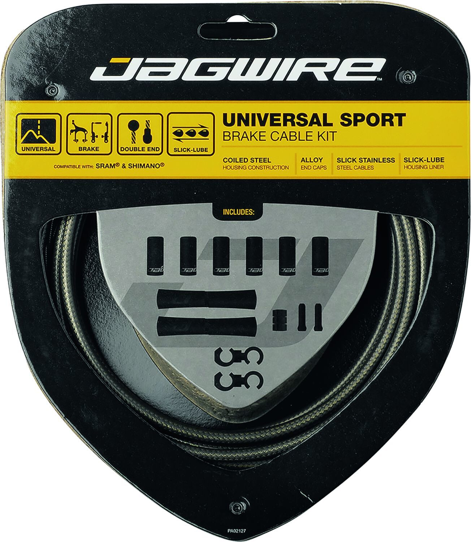 Jagwire Universal Sport Câble de frein Kit Ice Gray