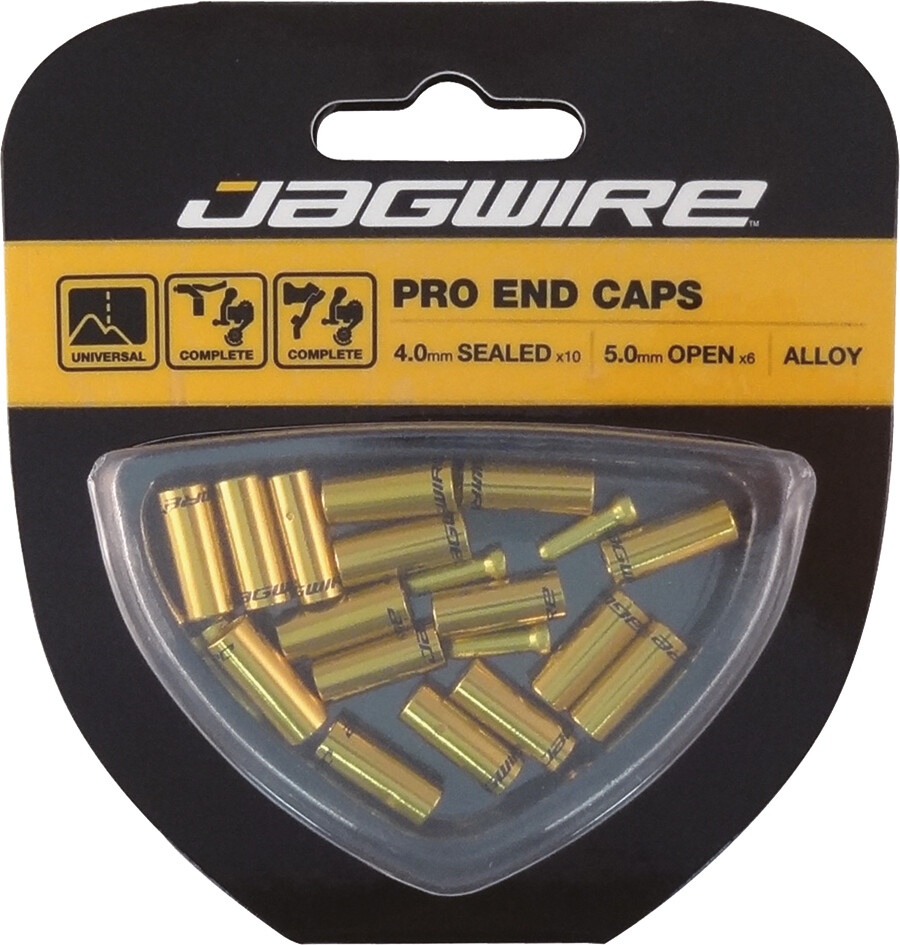 Jagwire Universal Pro Gearkabel 10x4mm Set, gold | Gear cables