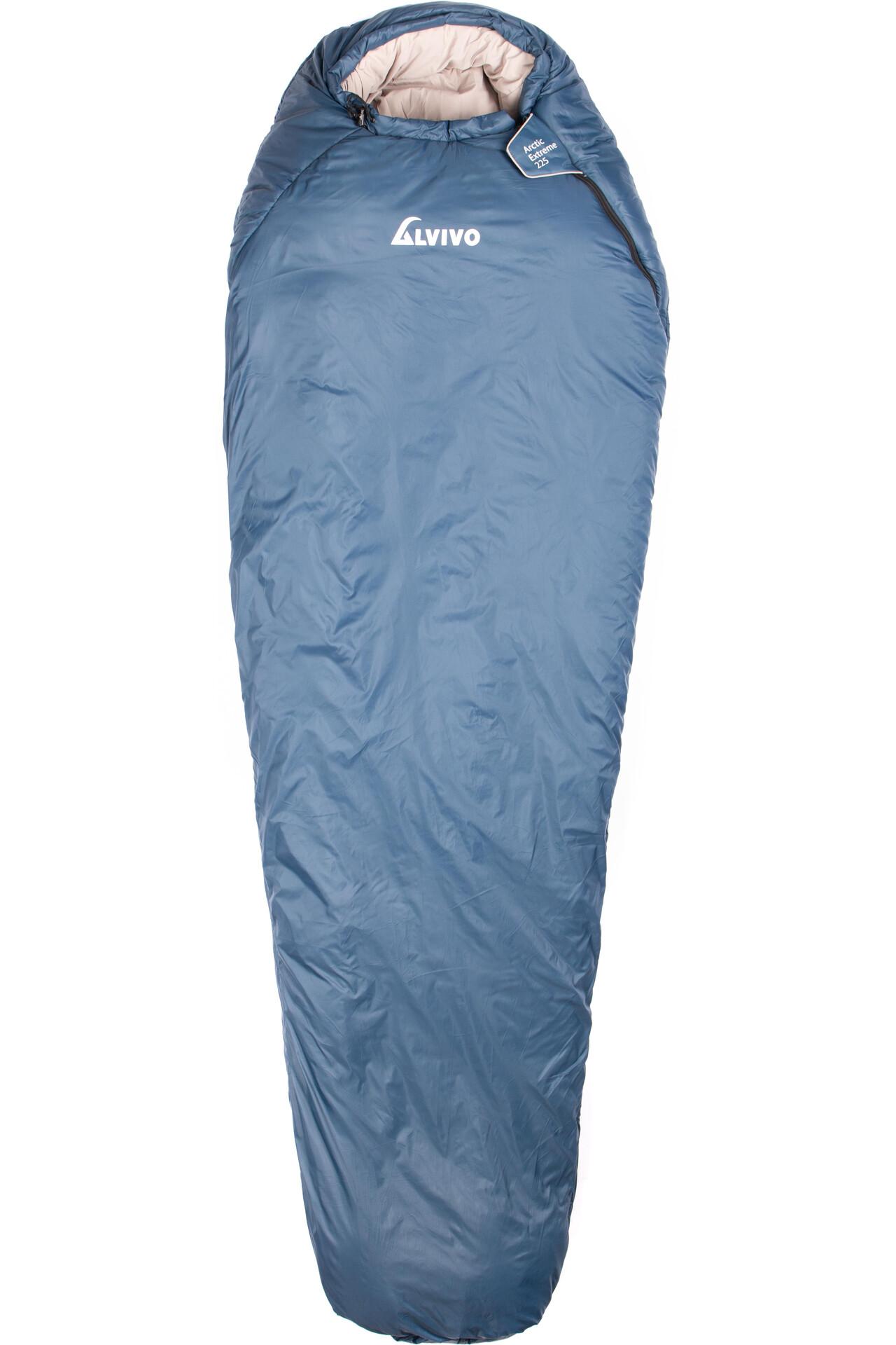 Alvivo Ibex light Duvet Sac de couchage bleu