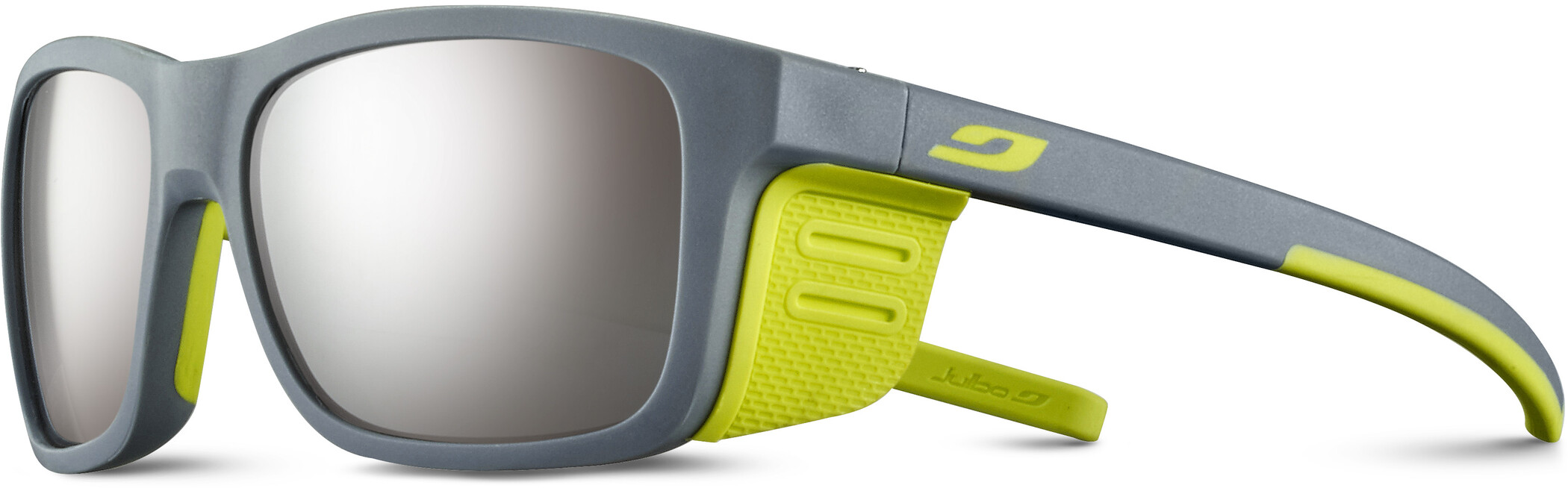Julbo Cover Spectron 4 Solbriller Børn, light gray/apple green (2020) | Glasses