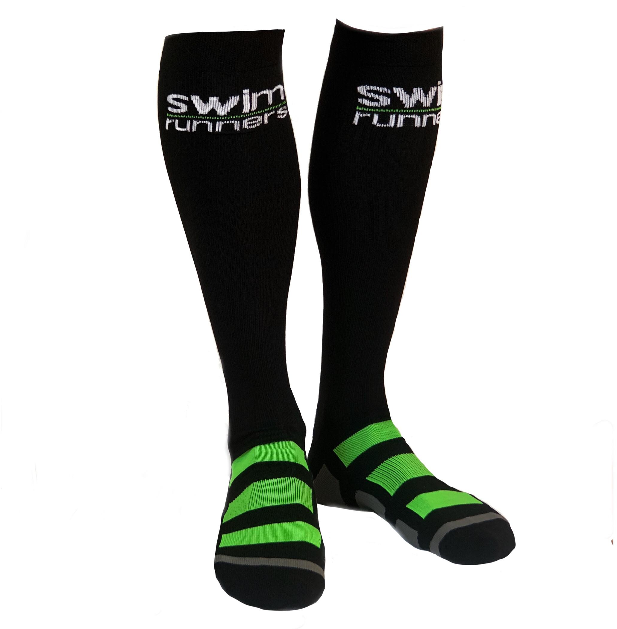 Swimrunners Compression Socks, black (2019)   Compression
