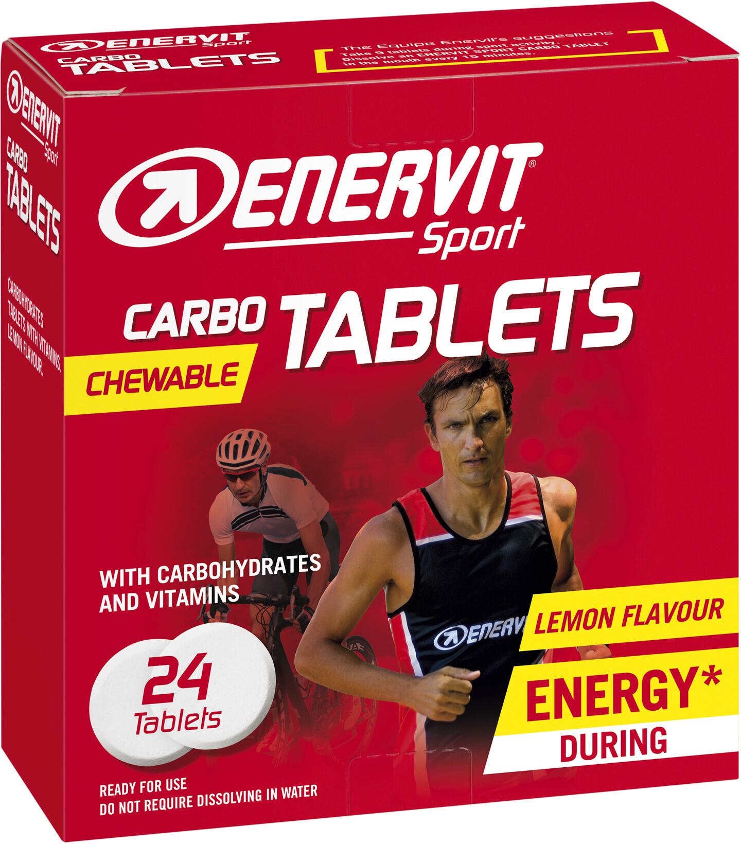 Enervit Sport Chewable Carbo Tablets 24x4g, Lemon (2019)   Misc. Nutrition