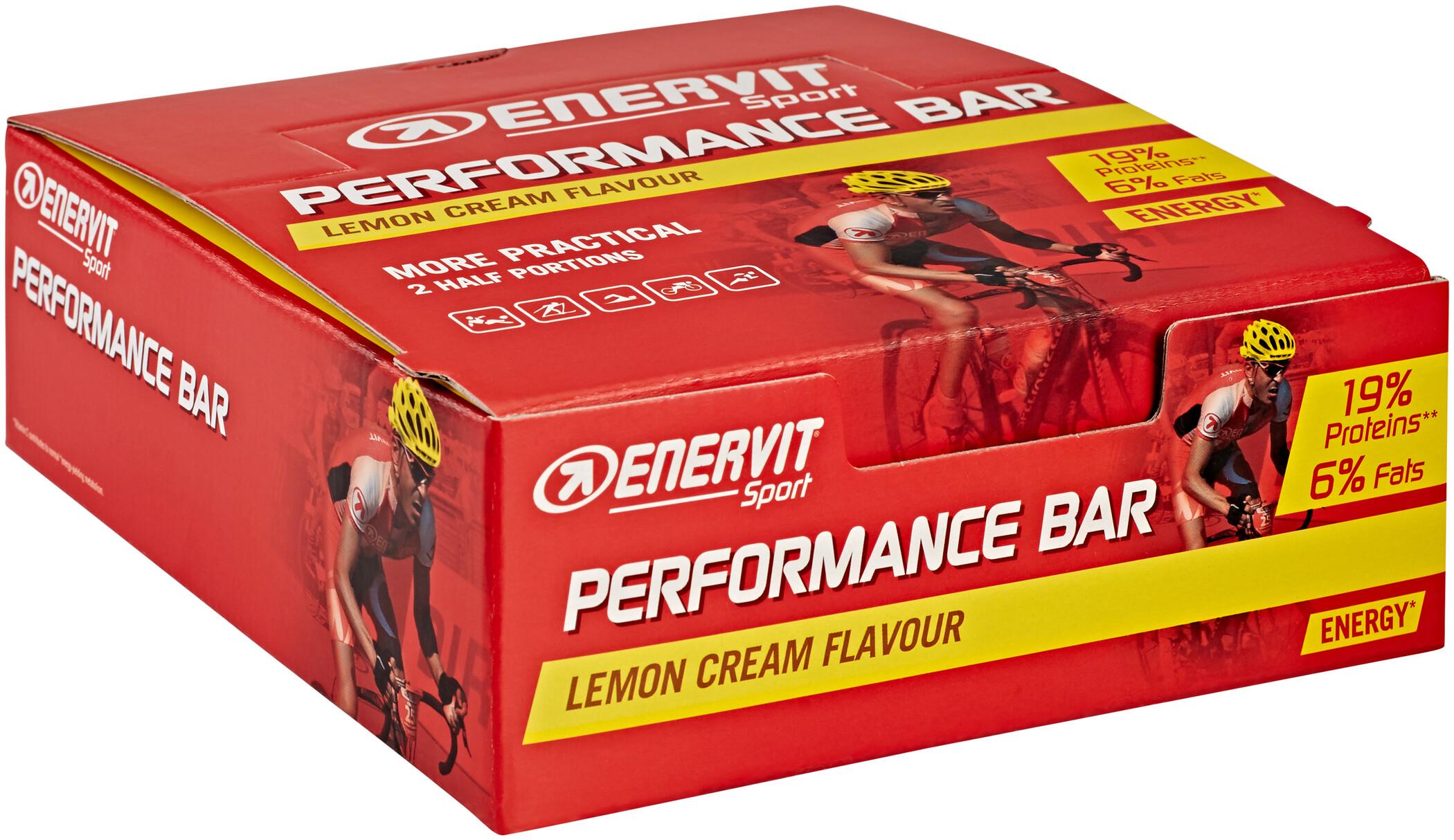 Enervit Sport Performance Bar Box 28x30+30g, Lemon Cream (2019)   Body maintenance
