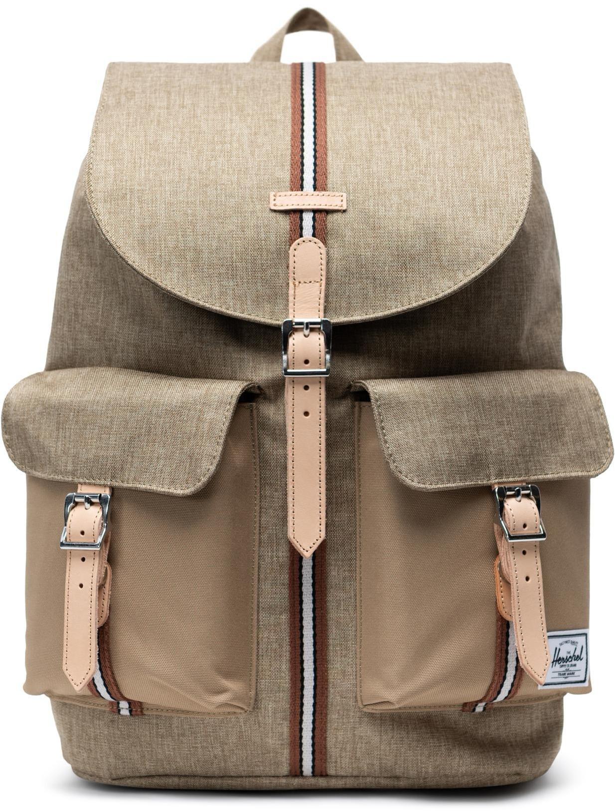 Herschel Dawson Backpack 20,5l, kelp crosshatch/kelp (2019)   Rygsæk og rejsetasker