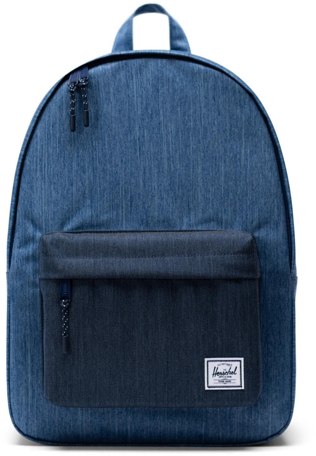 Herschel Classic Backpack 24L, faded denim/indigo denim (2019)   Rygsæk og rejsetasker