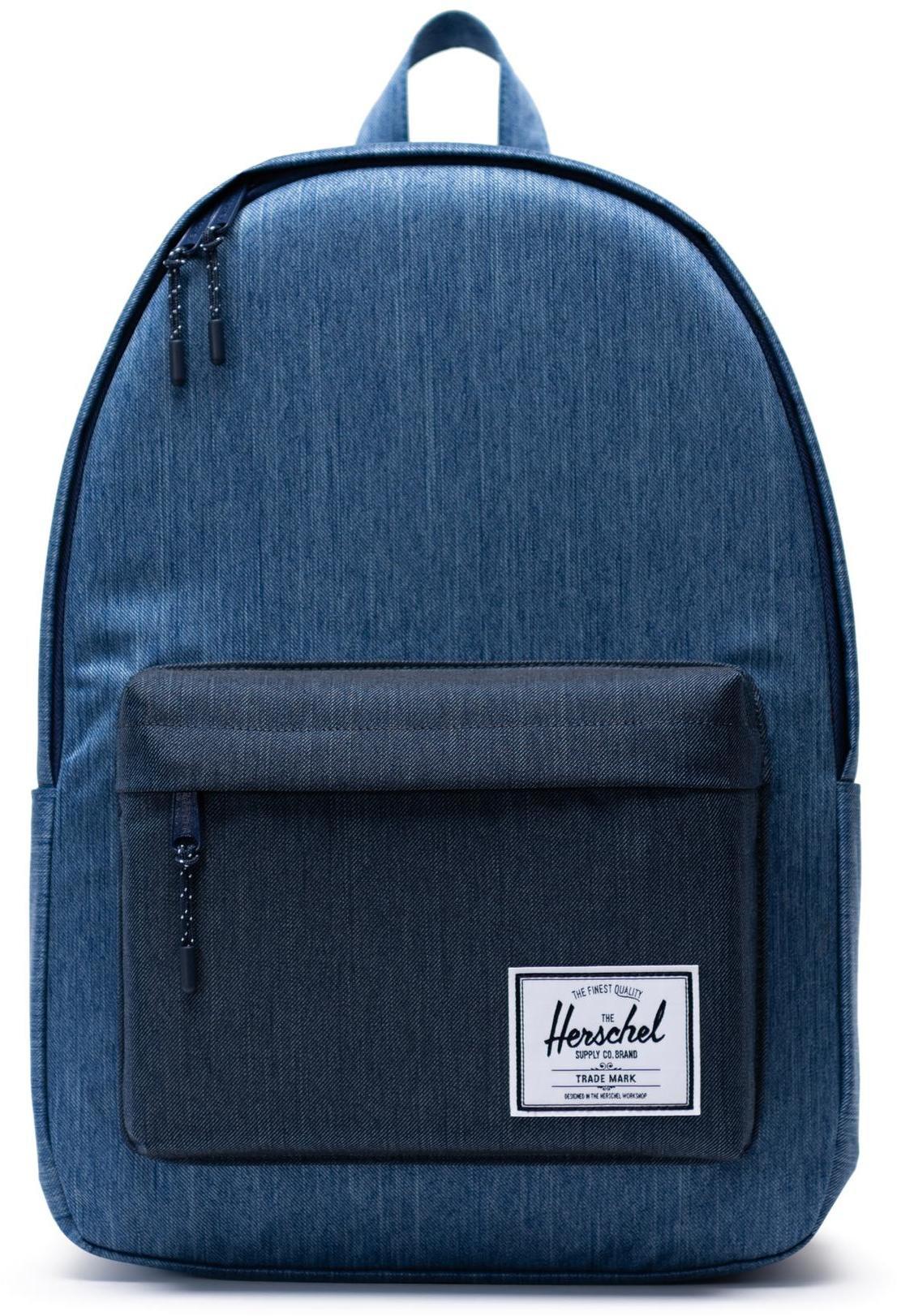 Herschel Classic XL Backpack 30l, faded denim/indigo denim (2019)   Rygsæk og rejsetasker