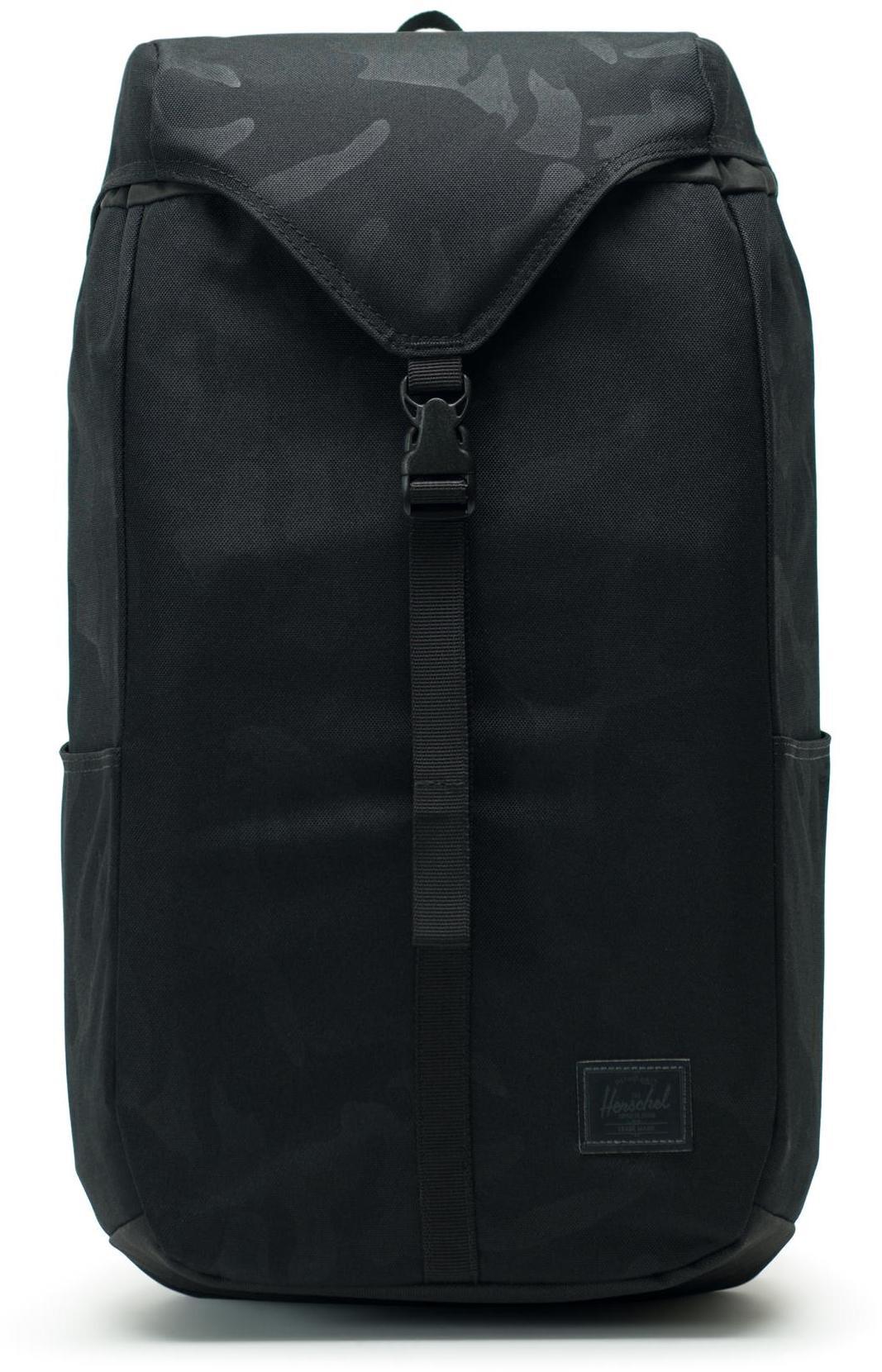 Herschel Thompson Backpack 17L, black/tonal camo (2019)   Rygsæk og rejsetasker