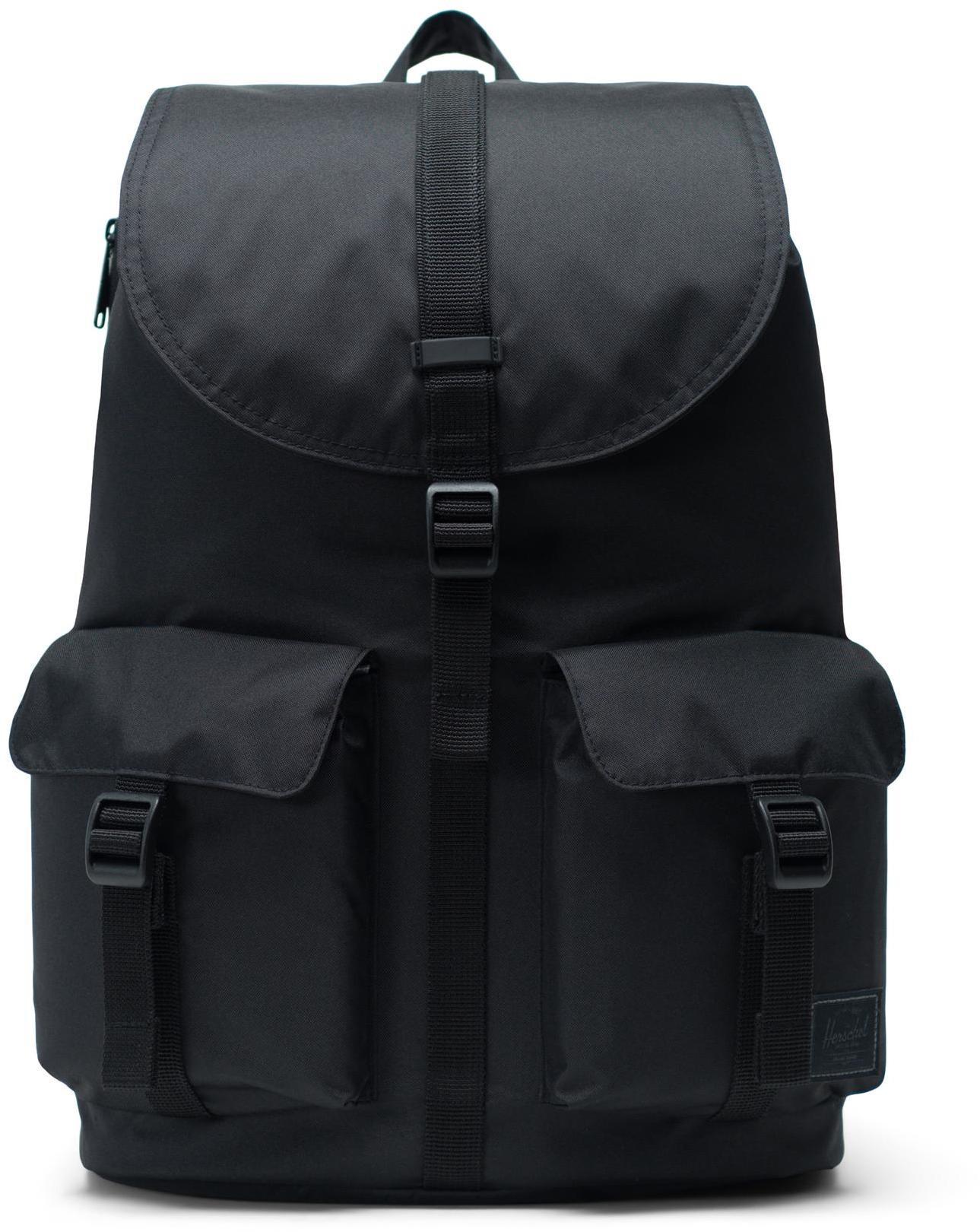 Herschel Dawson Light Backpack 20,5l, black (2019)   Rygsæk og rejsetasker