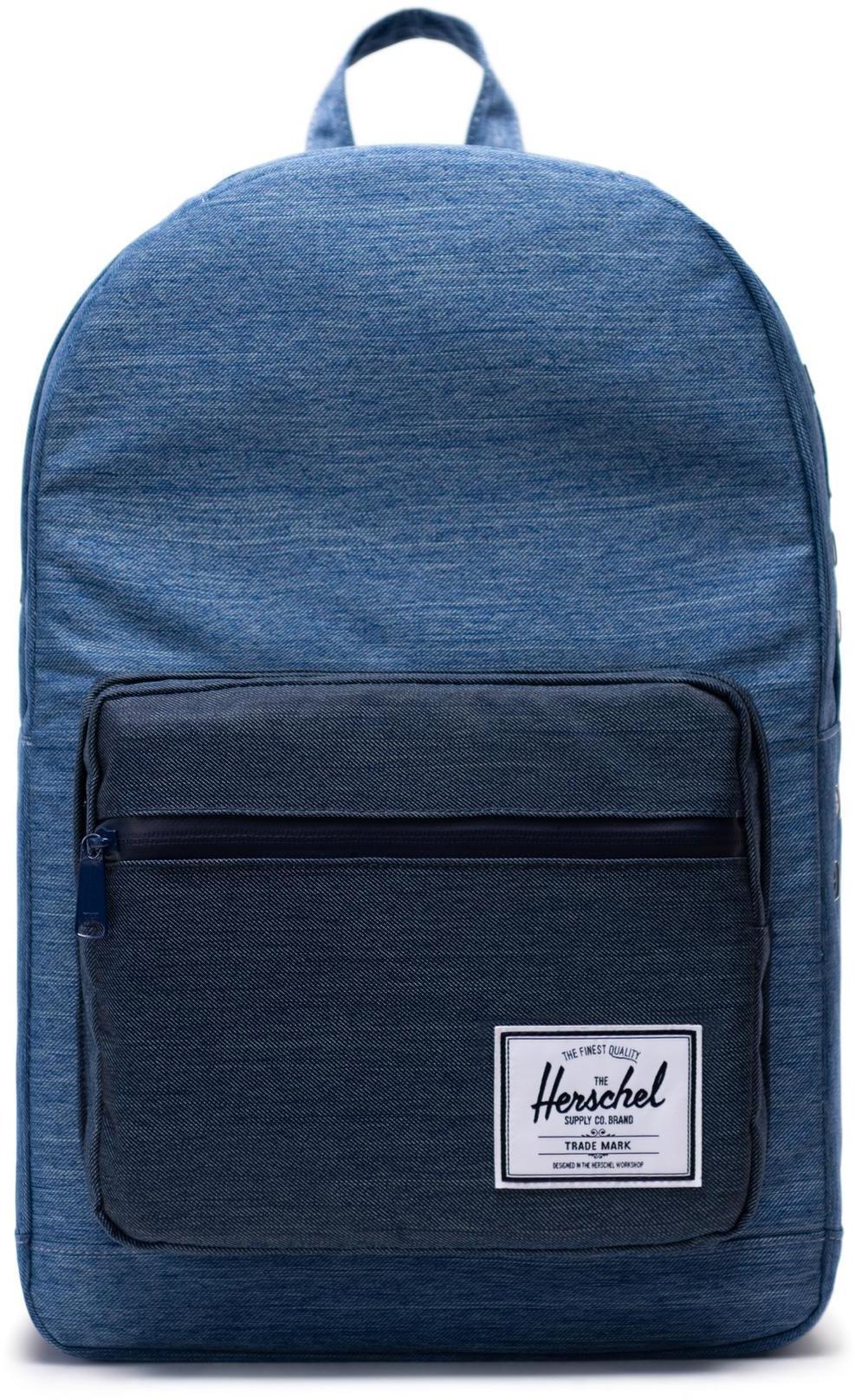 Herschel Pop Quiz Backpack 22L, faded denim/indigo denim (2019)   Rygsæk og rejsetasker