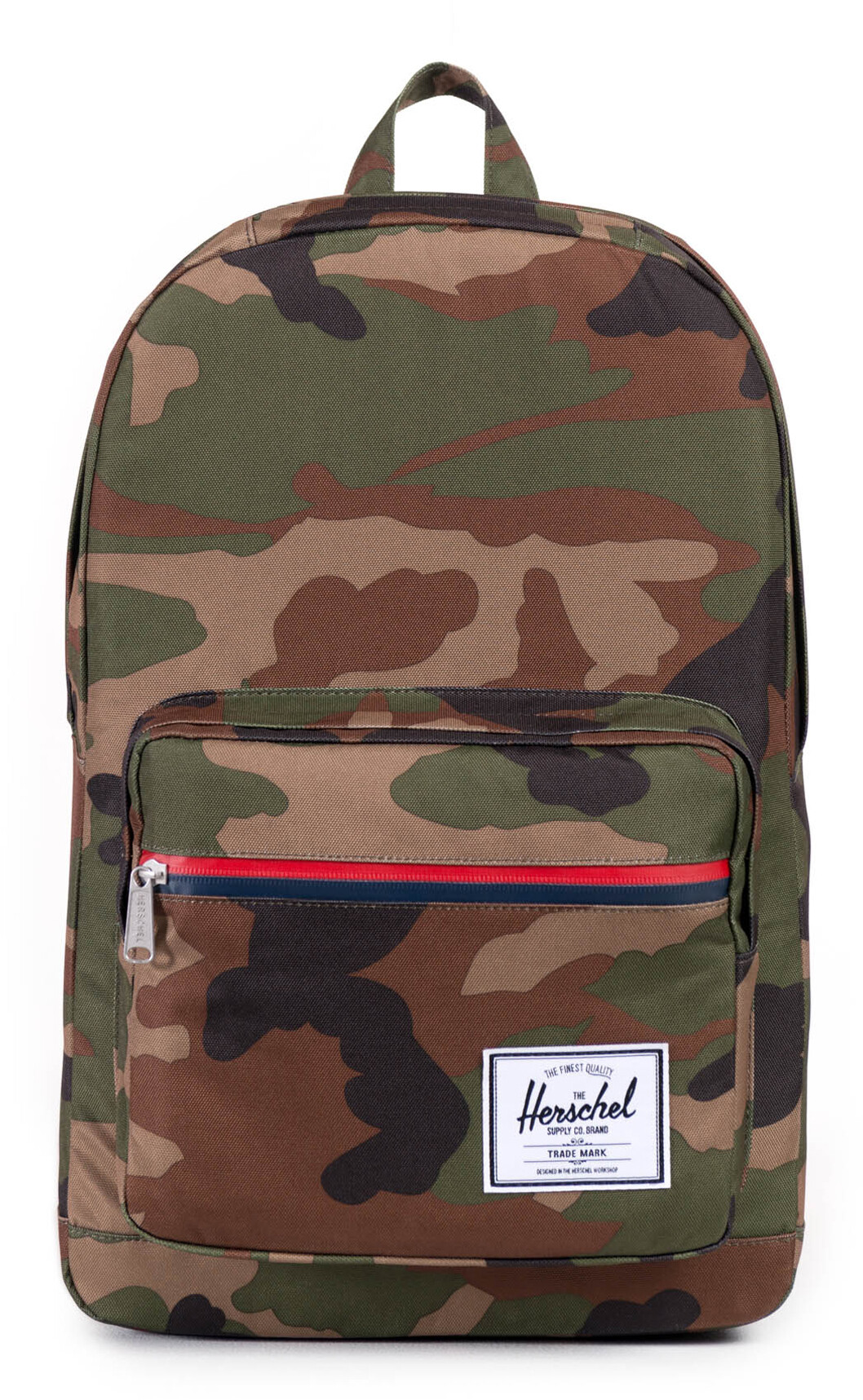Herschel Pop Quiz Rygsæk 22L, woodland camo/multi zip (2019) | Travel bags