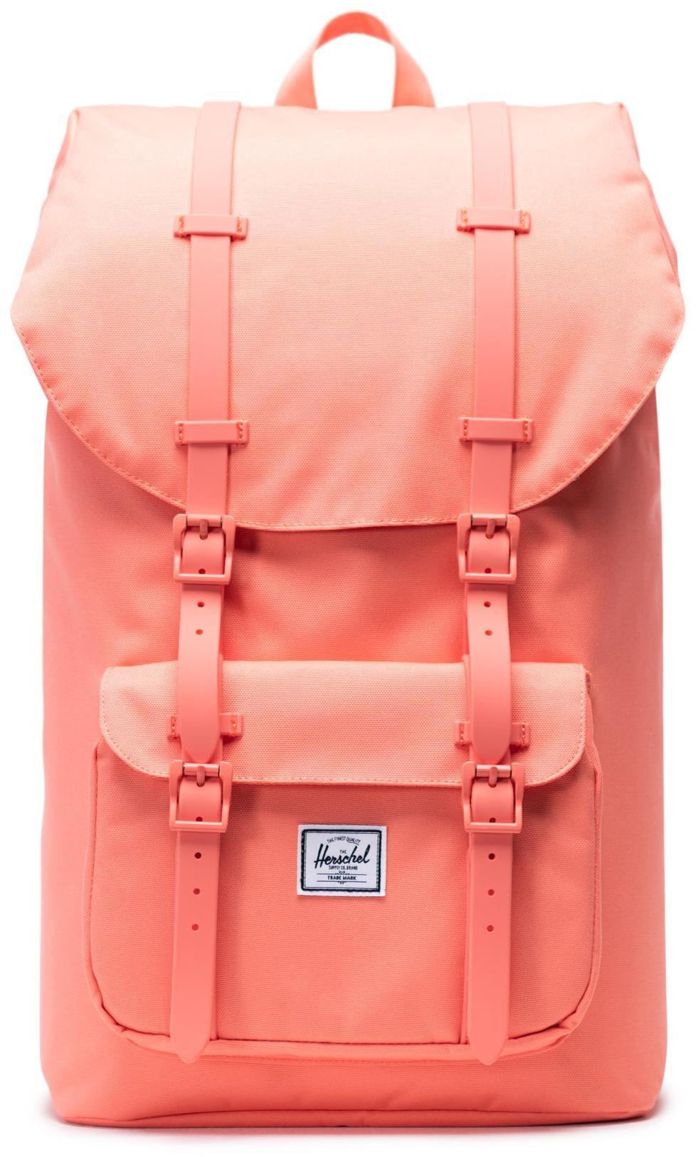Herschel Little America Backpack 25L, fresh salmon (2019)   Rygsæk og rejsetasker