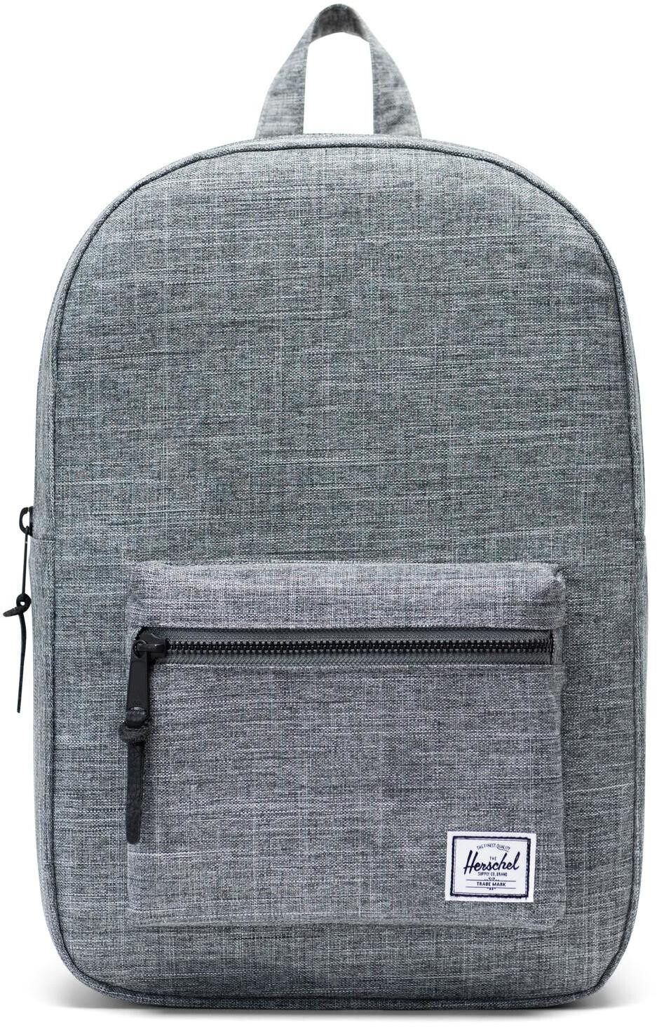 Herschel Settlement Mid-Volume Rygsæk 17L, raven crosshatch (2019) | Travel bags
