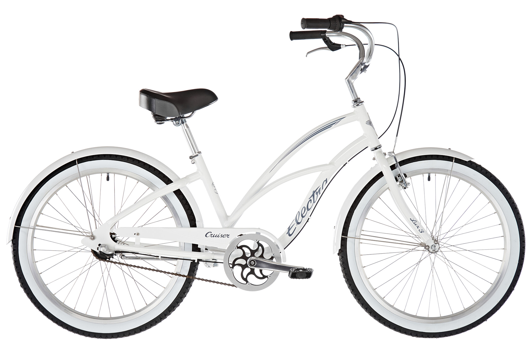 Electra Cruiser Lux 3i 24'' Women, white | City-cykler