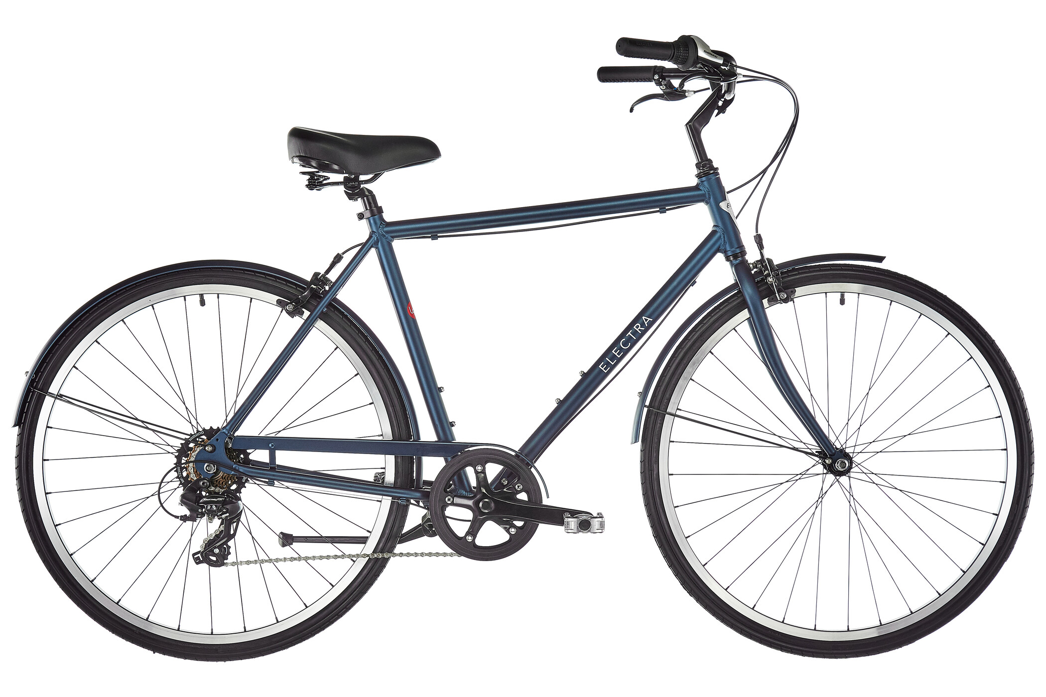Electra Loft 7D Herrer, matte indigo | City-cykler