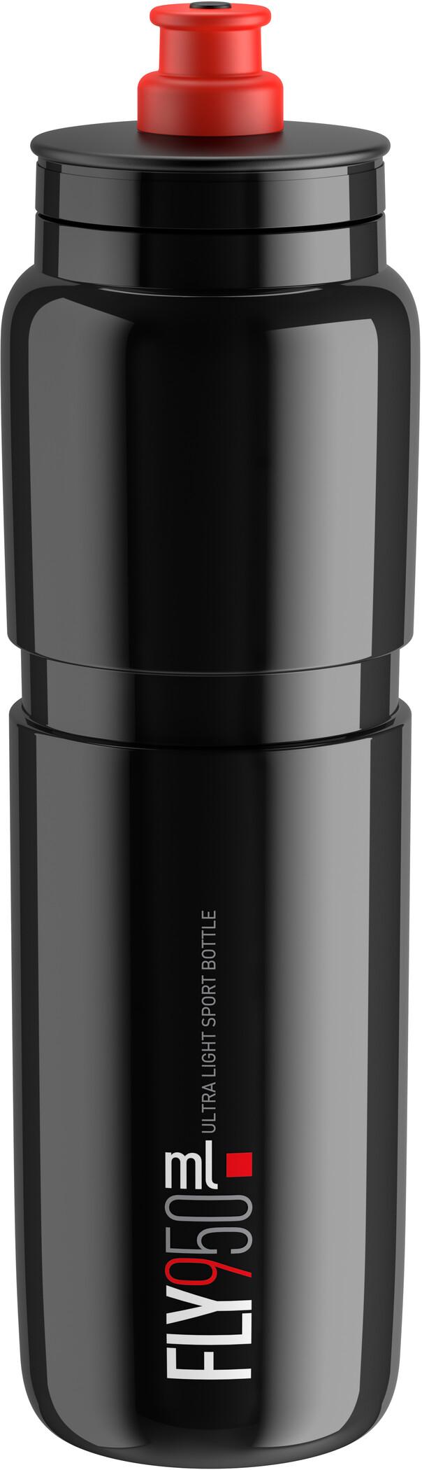 Elite Fly Drinking Bottle 950ml, black/red logo (2019)   Bottles