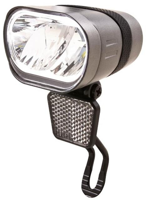Spanninga Axendo 80 XE Front Light for E-Bikes StVZO Silver