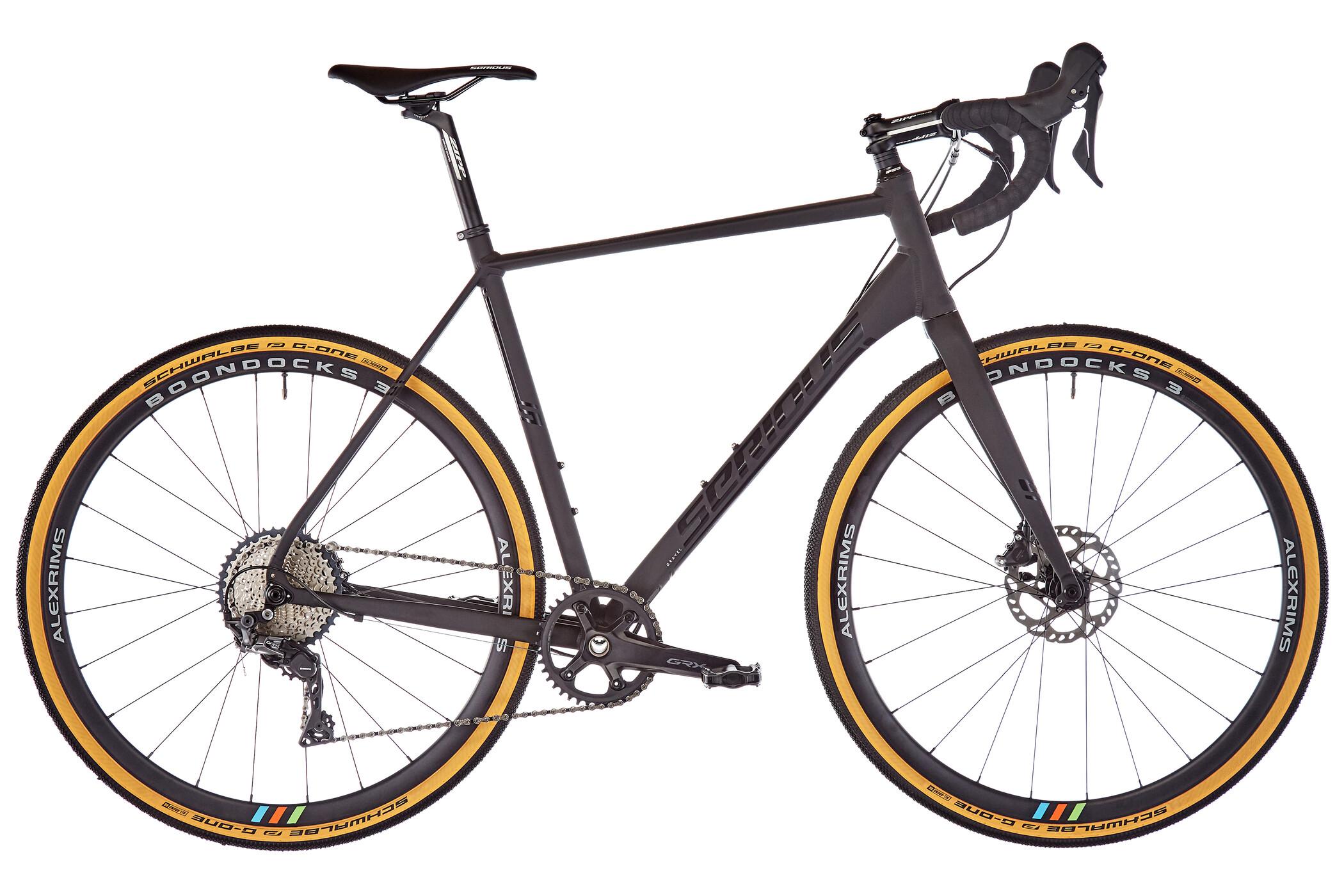 Serious Grafix GRX Pro, black/black (2019) | Road bikes