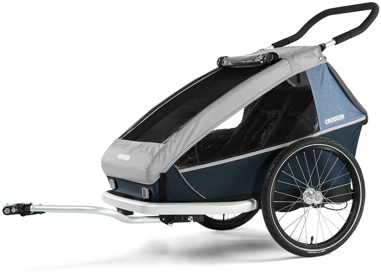 Croozer Kid LE for 2 Cykelanhænger, stone grey (2019) | bike_trailers_component
