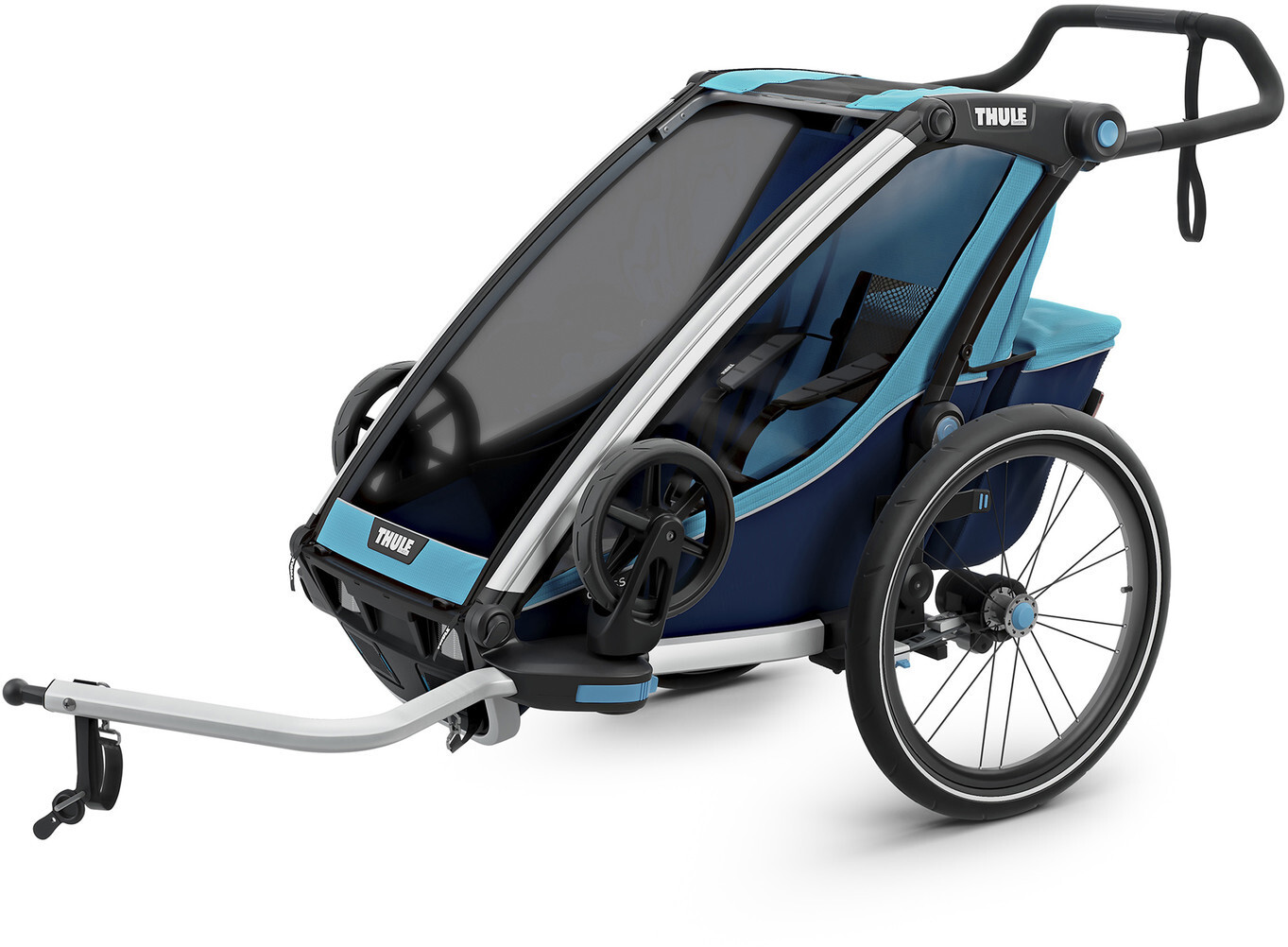 Thule Chariot Cross 1 Cykelanhænger, thule blue/poseidon (2019) | Trailer til cykler
