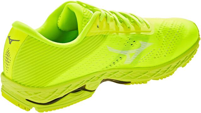 Yellow Mizuno Wave Shadow 3 Mens Running Shoes