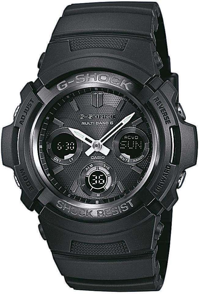 CASIO G-SHOCK AWG-M100B-1AER Ur Herrer, black (2019)   Sports watches