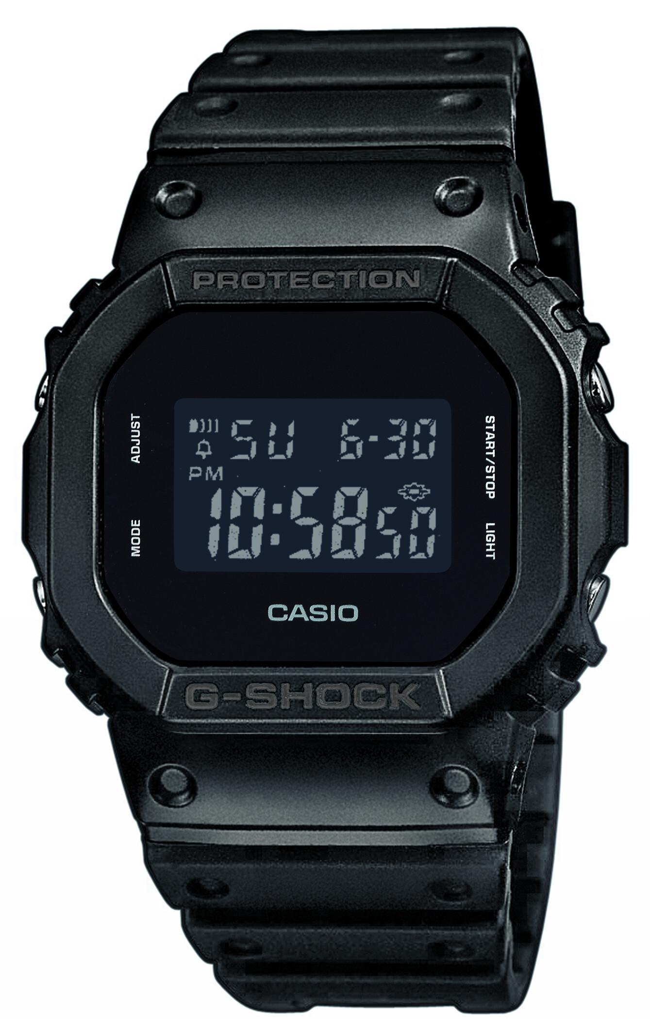 CASIO G-SHOCK DW-5600BB-1ER Ur Herrer, black (2019)   Sports watches
