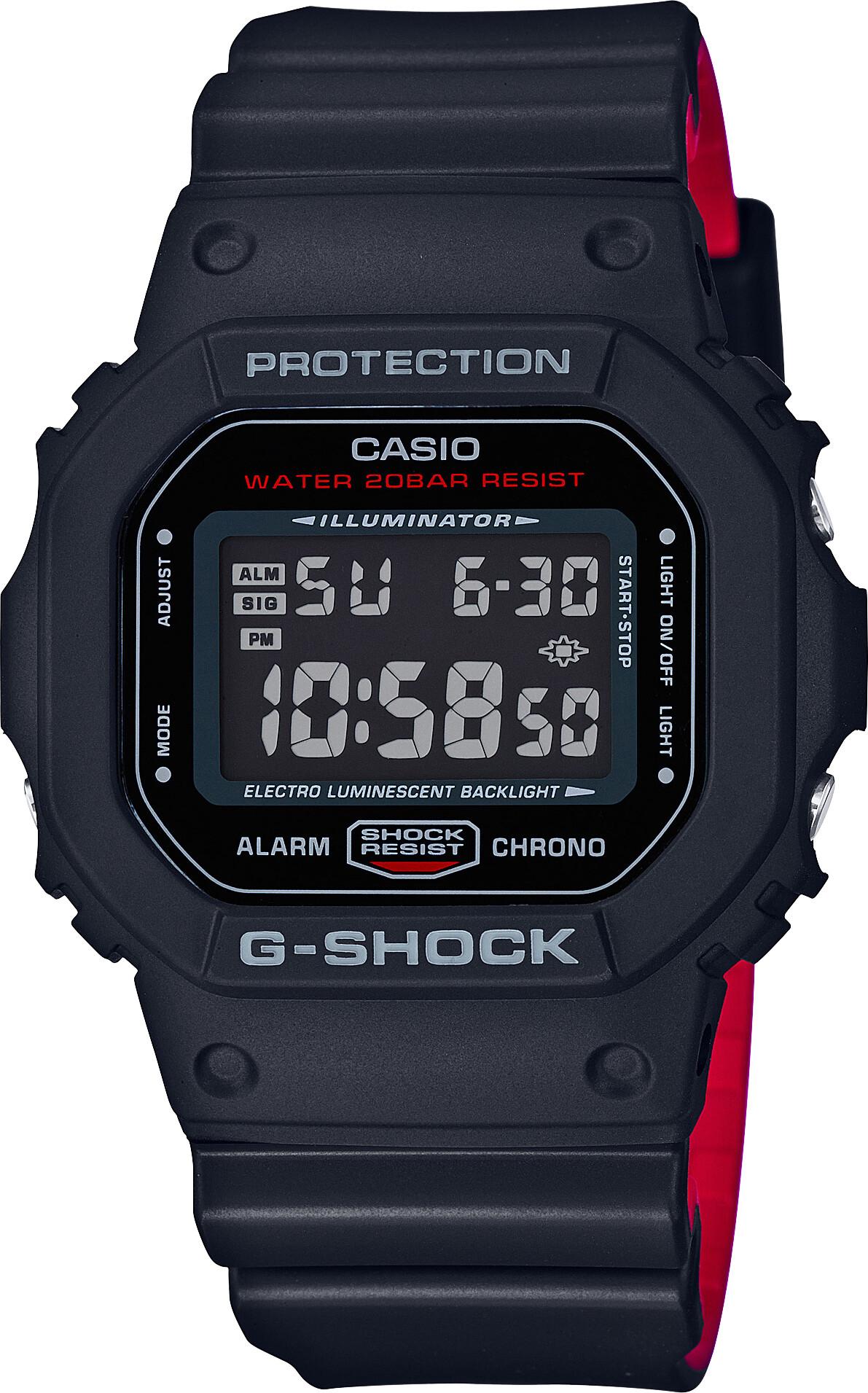 CASIO G-SHOCK DW-5600HR-1ER Ur Herrer, black (2019)   Sports watches