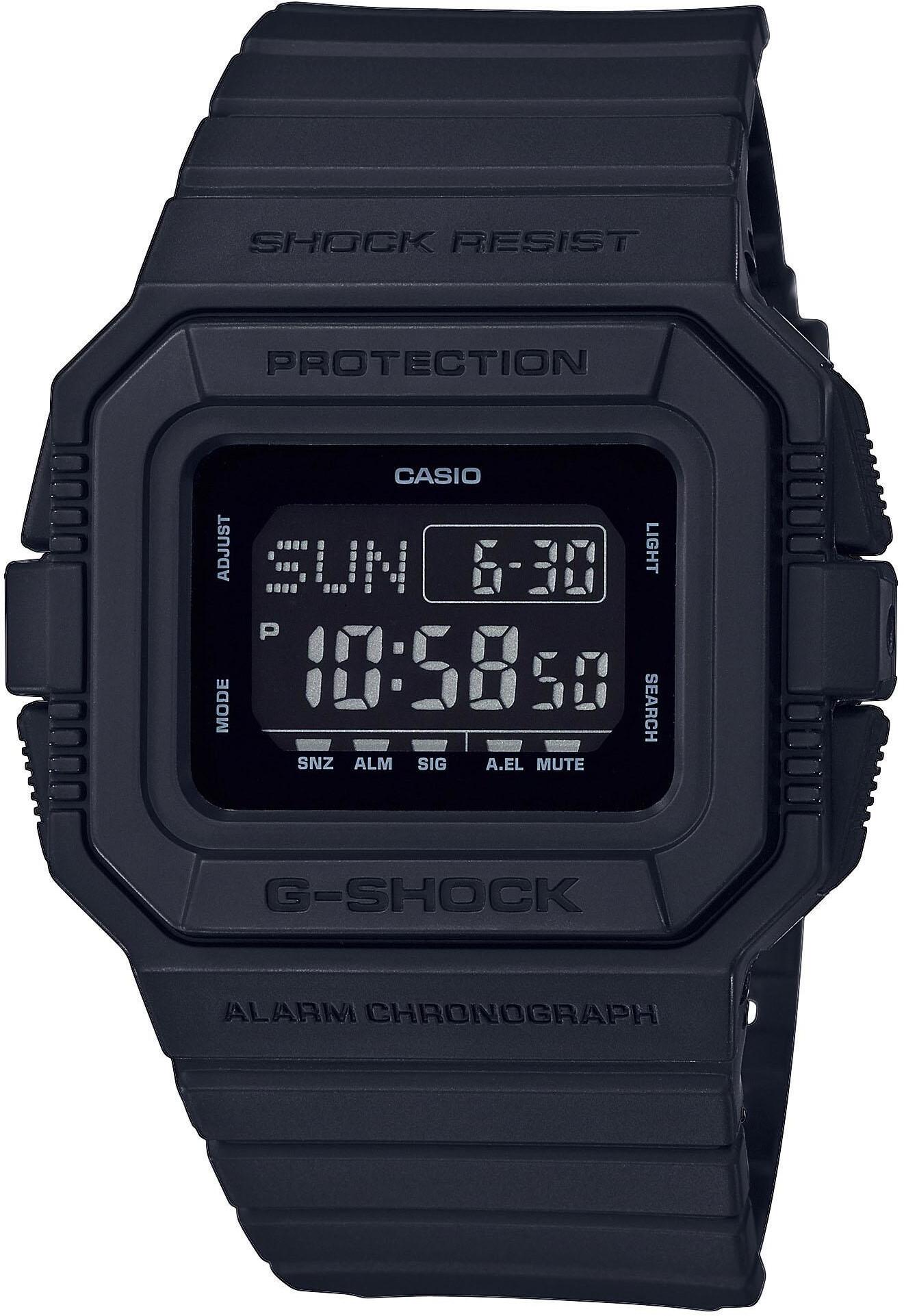 CASIO G-SHOCK DW-D5500BB-1ER Ur Herrer, black (2019)   Sports watches